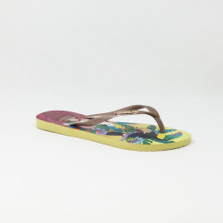 HAVAIANAS SLIM TROPICAL LEMON