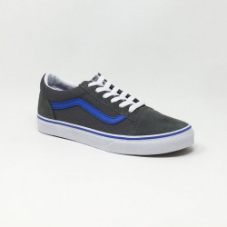 VANS OLD SKOOL GRIS/BLEU