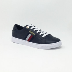 TOMMY HILFIGER LACE UP SNEAKER MARINE