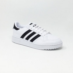 ADIDAS TEAM COURT BLANC/NOIR