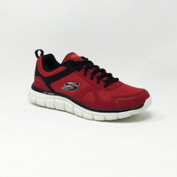 SKECHERS TRACK SCLORIC ROUGE
