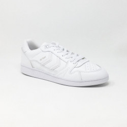 HUMMEL HB TEAM LEATHER BLANC