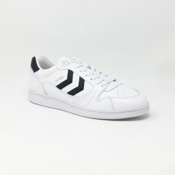 HUMMEL HB TEAM LEATHER BLANC/MARINE