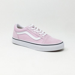 VANS OLD SKOOL ROSE/BLANC