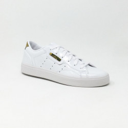 ADIDAS SLEEK W BLANC/OR