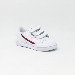 ADIDAS CONTINENTAL 80 BLANC/ROUGE