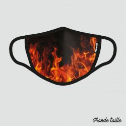 FREEGUN MASQUE TISSU LAVABLE FIRE
