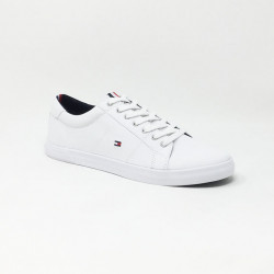 TOMMY HILFIGER ICONIC LONG LACE BLANC