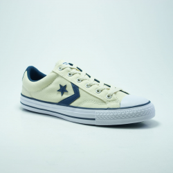 CONVERSE STAR PLAYER OX BLANC/MARINE
