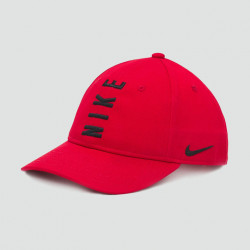 NIKE CASQUETTE KIDS ROUGE