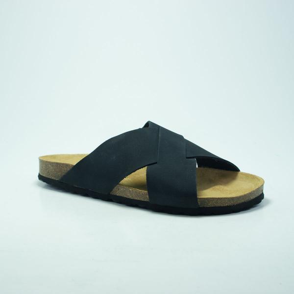 Plakton BALNER NOIR Noir - Chaussures Sandale Homme
