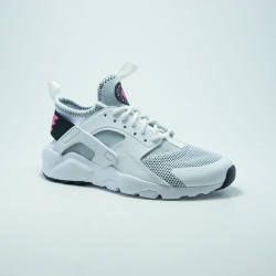 NIKE HUARACHE RUN  GS  BLANC/ROSE