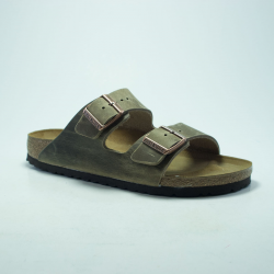 BIRK ARIZONA CUIR TABACCO/BROWN