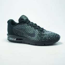 NIKE AIR MAX SEQUENT  NOIR/NOIR