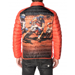 PULLIN DOUDOUNE HOMME BICROSS ORANGE