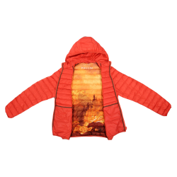 PULL IN DOUDOUNE HOMME CANADA ORANGE