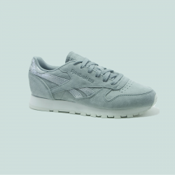 REEBOK CLASSIC LEATHER SHIMMER  GRIS