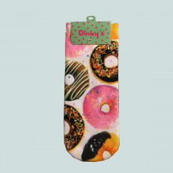 DINKYS CHAUSSETTE FANTAISIES DONUTS
