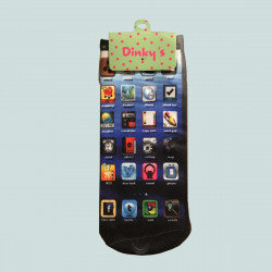 DINKYS CHAUSSETTE FANTAISIES SMARTPHONE
