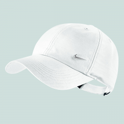 NIKE CASQUETTE KIDS HERITAGE 86 BLANC