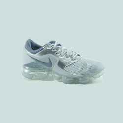 NIKE AIR VAPORMAX GS  METALIC/SILVER
