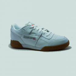 REEBOK WORKOUT PLUS BLANC/BEIGE