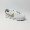 NIKE CORTEZ BASIC GS BLANC/OR