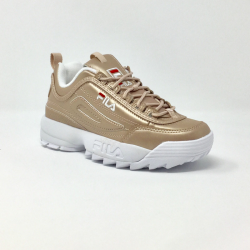 FILA DISRUPTOR LOW  ROSE/GOLD