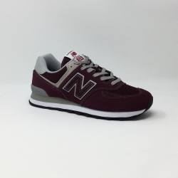 NEW BALANCE ML574 D  BORDEAUX
