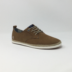 PEPE JEANS MAUI LACES SUEDE  TOBACCO