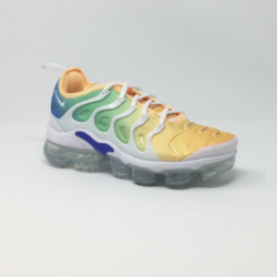 NIKE AIR VAPORMAX PLUS  BLANC/MULTI