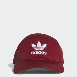 ADIDAS ORIGINALS TREFOIL CAP  BORDEAUX
