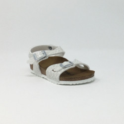 BIRK RIO MAGIC SNAKE BLANC