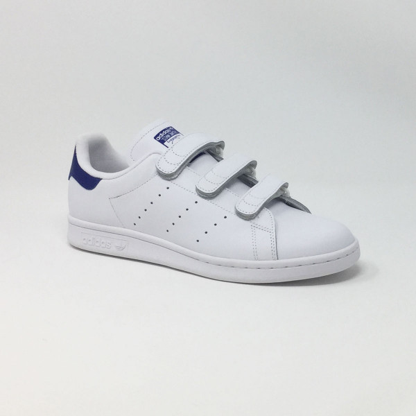 stan smith a scratch bleu