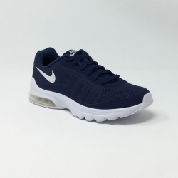 NIKE AIR MAX INVIGOR GS MARINE/BLANC