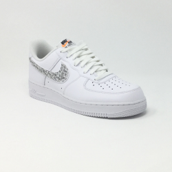 NIKE AIR FORCE 1 '07 LV8 JDI LNTC BLANC