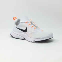 NIKE PRESTO FLY JDI BLANC/ORANGE