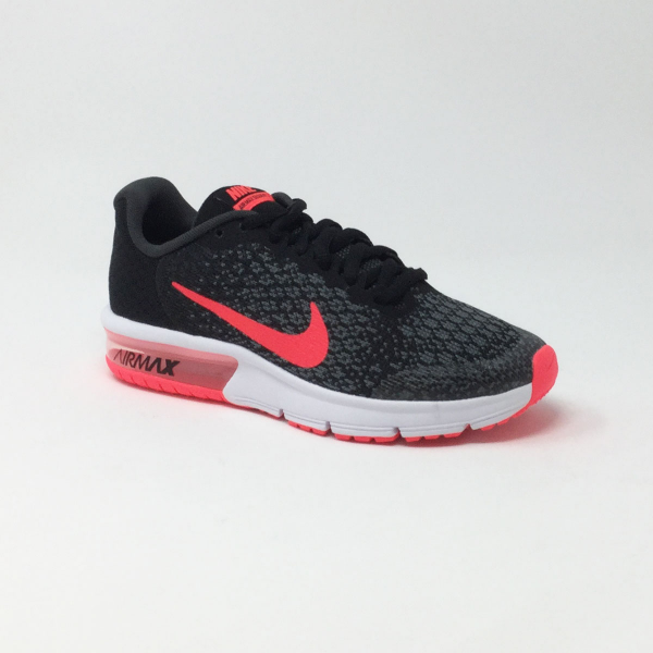 promo code 6a209 bcabd NIKE AIR MAX SEQUENT NOIR ROSE
