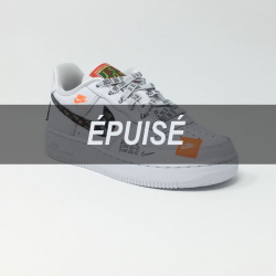 NIKE AIR FORCE 1 JDI BLANC/MULTI
