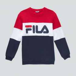 FILA MEN STRAIGHT BLOCKED CREW MARINE