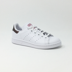 ADIDAS STAN SMITH J SNAKE BLANC/ROSE