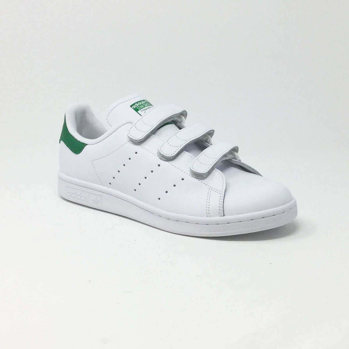 ADIDAS STAN SMITH VELCRO BLANCVERT