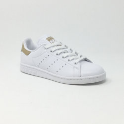 ADIDAS STAN SMITH BLANC/CAMEL