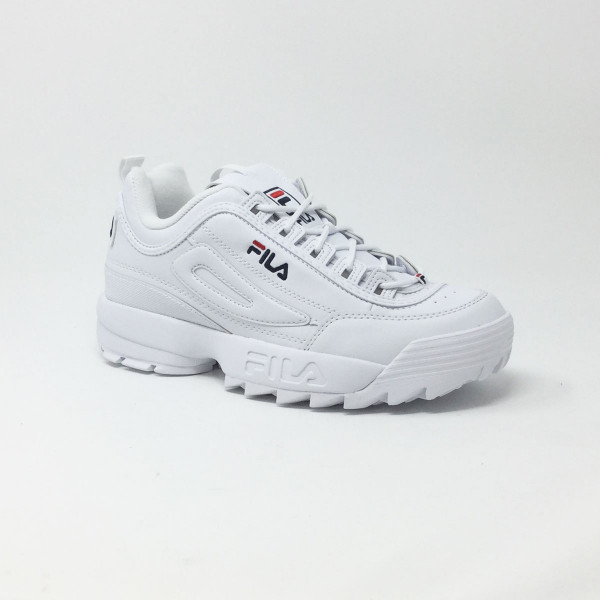 FILA DISRUPTOR LOW BLANC