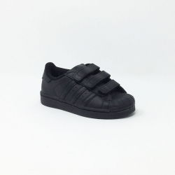 ADIDAS SUPERSTAR FOUNDATION NOIR/NOIR