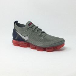 NIKE AIR VAPORMAX FLYKNIT 2 GRIS/ROUGE