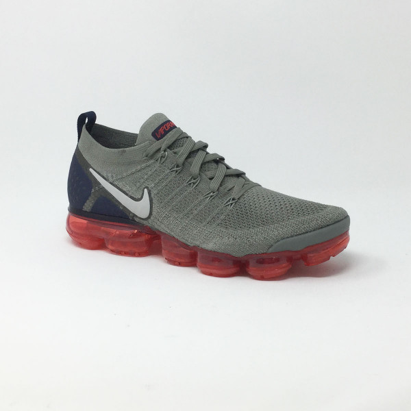 450a289c74bfb NIKE AIR VAPORMAX FLYKNIT 2 GRIS ROUGE