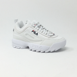 FILA DISRUPTOR M LOW BLANC