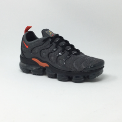 NIKE AIR VAPORMAX PLUS GRIS/ORANGE