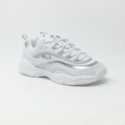 FILA RAY LOW BLANC/ARGENT